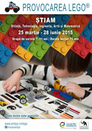 Provocarea LEGO®, lansata de Muzeul Antipa si e² Young Engineers
