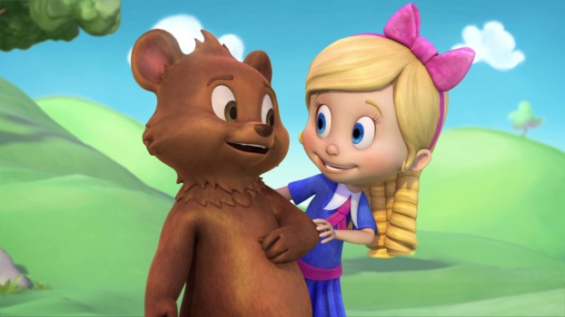 GOLDIE SI URSULET, un nou serial animat la Disney Junior