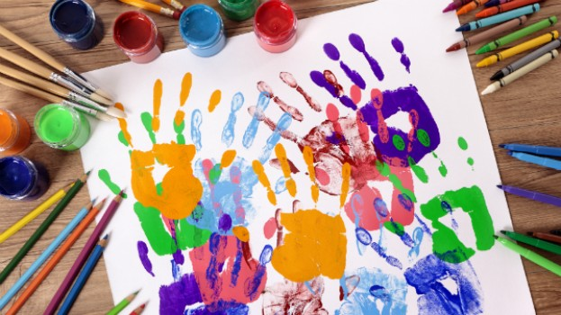 Cum sa te joci de-a pictura: 5 idei amuzante