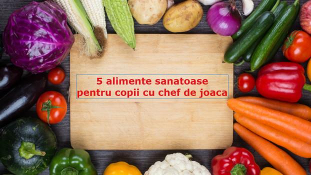 5 alimente sănătoase pentru copii cu chef de joacă