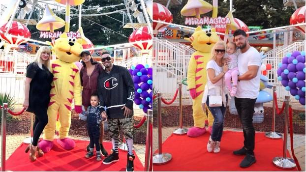 Antonia, Alex Velea, Anda Adam și multe alte vedete s-au distrat alături de copiii lor la aniversarea unui parc de distracții