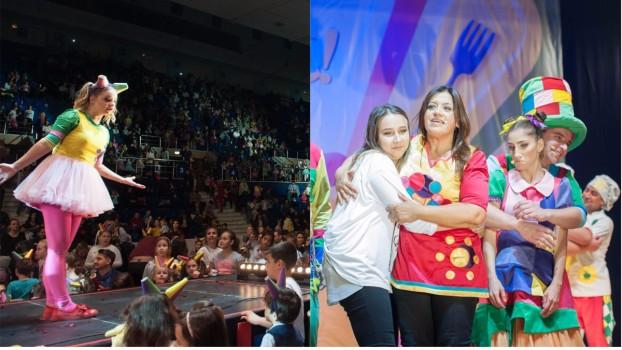 5.000 de bucureșteni, prezenți în Sala Polivalentă la spectacolul susținut de Gașca Zurli