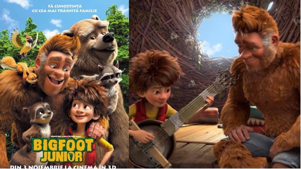 """""""Bigfoot Junior"""" continuă aventurile renumitului său tată la cinema"""