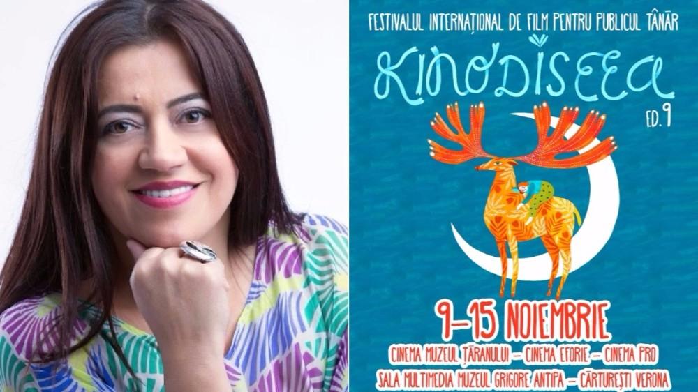 Mirela Retegan este ambasadorul KINOdiseea 2017