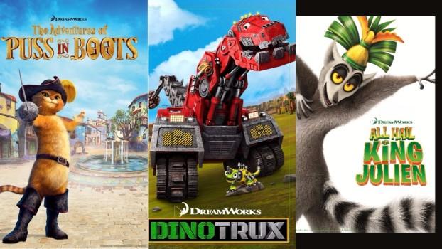 Trei seriale noi marca DreamWorks la Minimax, din noiembrie