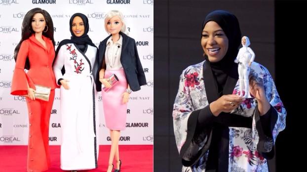 Barbie cu jihab! Noul model de păpușă, creat după sportiva americană Ibtihaj Muhammad