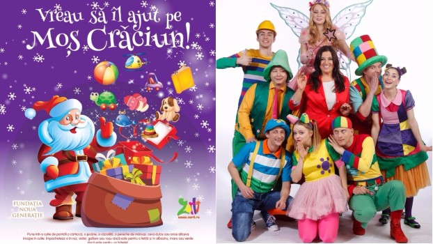 """Participă alături de Gașca Zurli la campania """"Vreau să îl ajut pe Moș Crăciun!"""""""