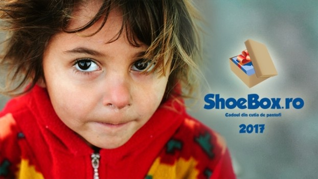 Ediţia aniversară cu numărul 10 a proiectului ShoeBox - Cadoul din cutia de pantofi