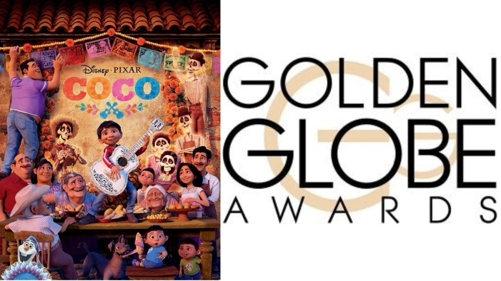 """""""Coco"""" a câștigat Globul de Aur pentru cea mai bună animație"""