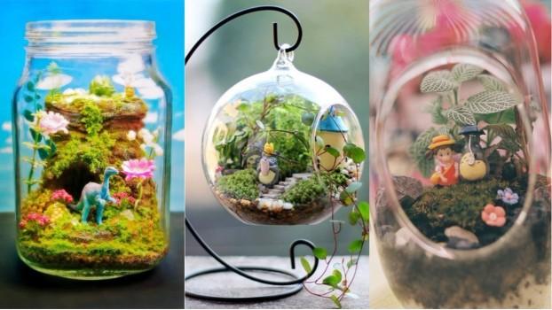 Terrarium pentru copii: Lumea poveștilor într-un bol de sticlă