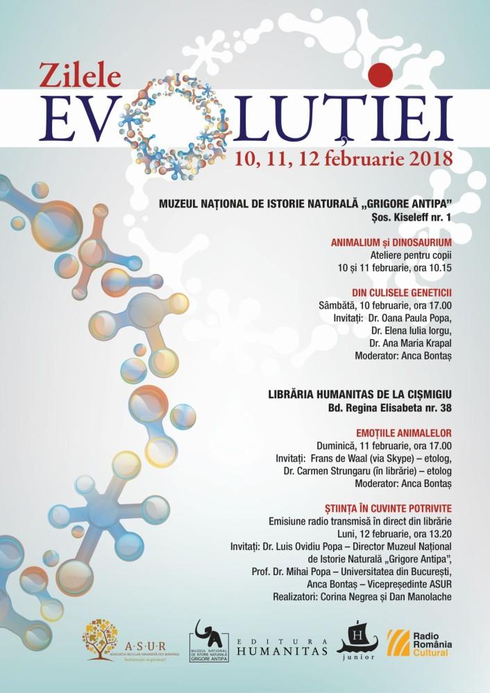 Zilele Evoluției la Muzeul Antipa