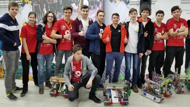 Echipa de robotică AutoVortex România a câștigat locul I la FTC Rusia Open