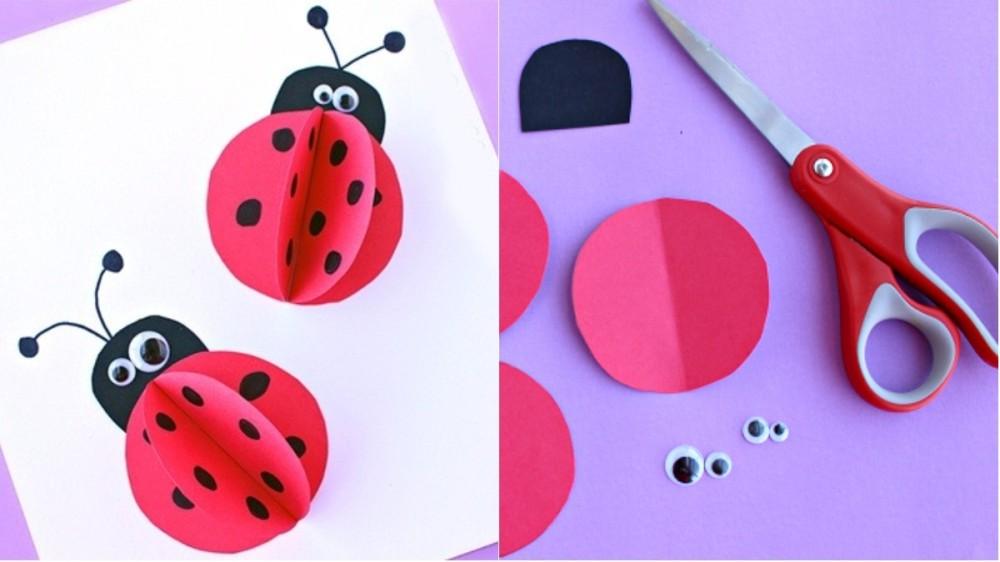 Mărțișor pentru copii: Cum să faci o gărgăriţă 3D