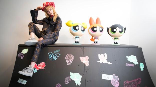 Fetiţele Powerpuff, sursă de inspirație pentru o colecție de modă