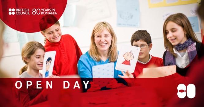 Open Day la British Council. Eveniment gratuit pentru întreaga familie