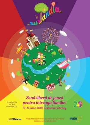 Festivalul Familiei Zurlandia, ediția a doua, pe 16 și 17 iunie, la Domeniul Știrbey