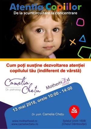Atenția copiilor: De la scurtcircuitare la concentrare