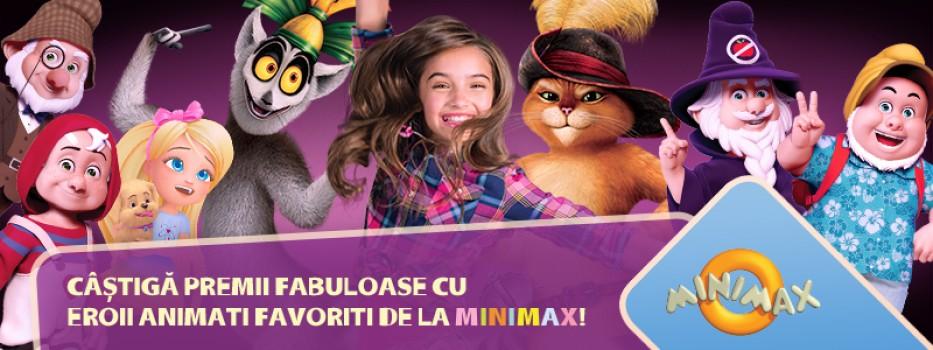 Minimax aduce desenele animate în parc,  pe 1 și 2 iunie!