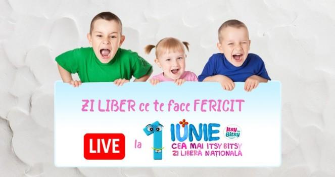 Cea Mai Itsy Bitsy Zi Liberă Naţională, în în Parcul Alexandru Ioan Cuza