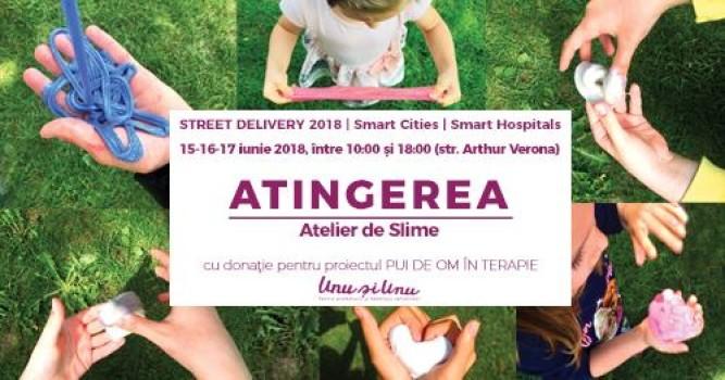 Atelier de slime la Street Delivery