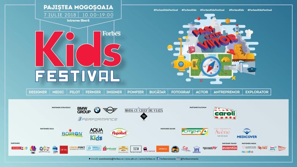 Forbes Kids Festival – Pași către viitor