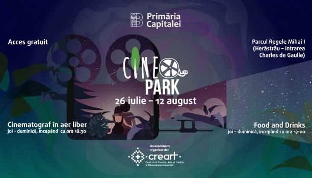 CineParK - cinematograf în aer liber, în Parcul Herăstrău