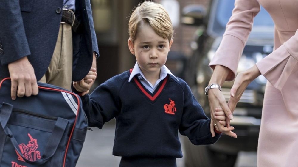 Prinţul George a împlinit 5 ani! Palatul Kensington a dat publicităţii o fotografie specială