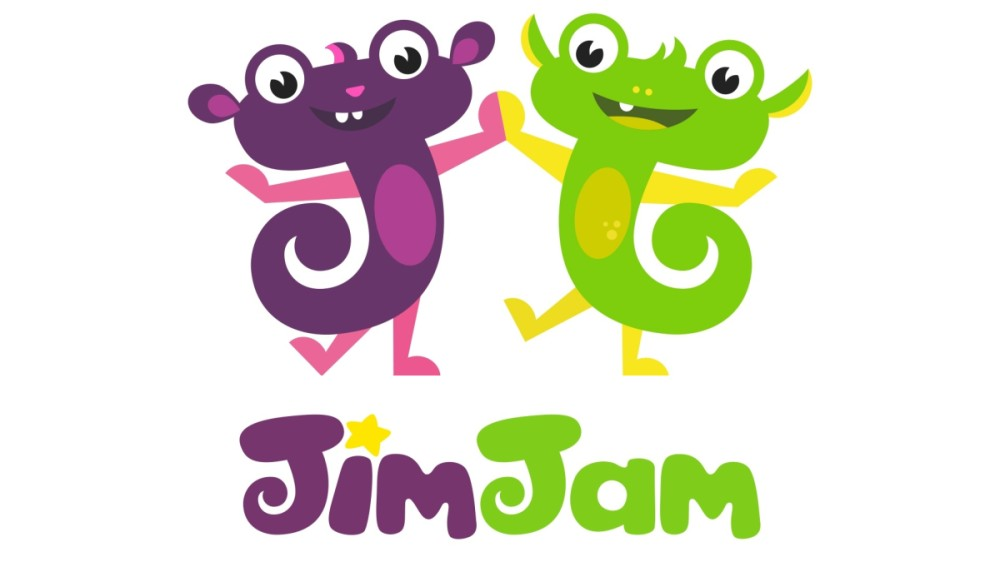 JimJam,  design de brand și logo noi