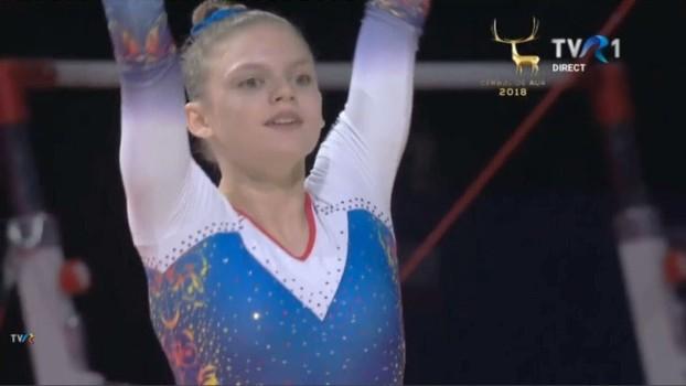 O nouă campioană la gimnastică! Denisa Golgotă, bronz la sărituri și argint la sol la Campionatele Europene