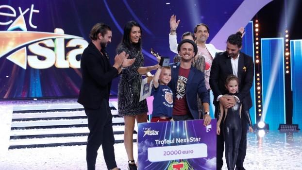 """Mihai Dobre, un puști genial de 8 ani, a câştigat """"Next Star"""" 2018"""