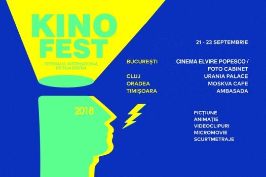 Festivalul Internaţional de Film Digital Kinofest, la Cinema Elvire Popesco