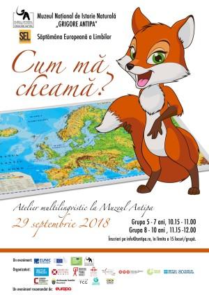 Săptămâna Europeană a Limbilor la Muzeul Antipa