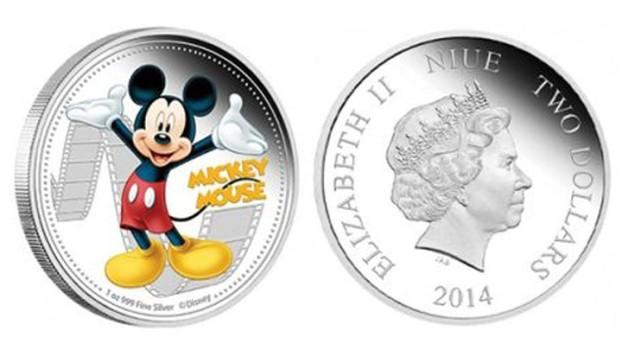 Mickey Mouse si Scooby Doo au ajuns imagini pe monede