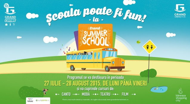 Grand Summer School – ce mai FUN scoala de vara