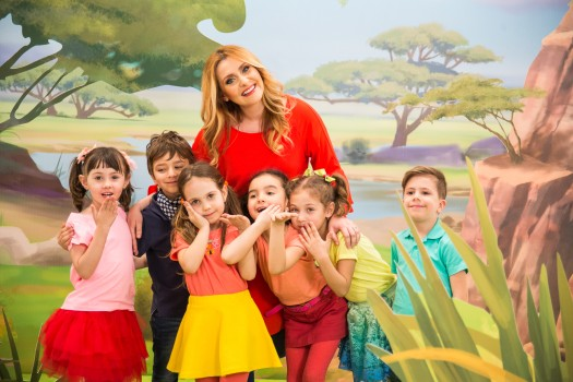 Alina Sorescu canta in noul serial GARDA FELINA de la Disney Junior