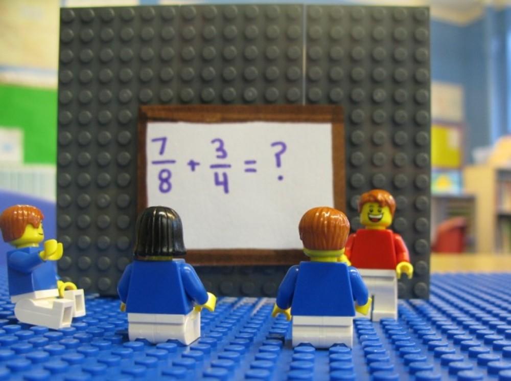Matematică distractivă cu piese LEGO
