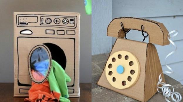 Cum să construiești cele mai spectaculoase jucării din cutii de carton