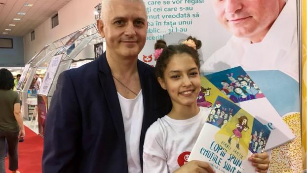 Virgil Ianțu: Dezvăluri din culisele primei sale cărţi pentru juniori (Interviu)