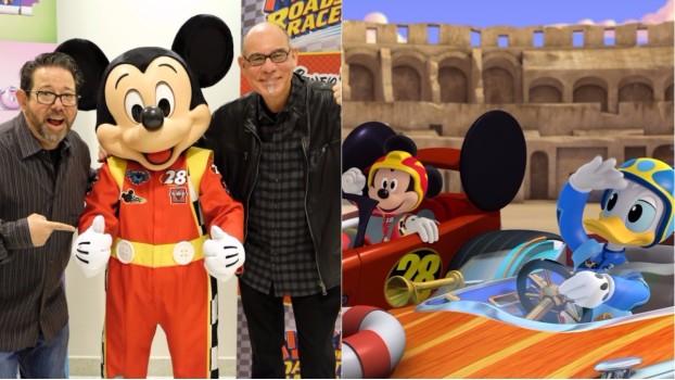 Rob LaDuca şi Mark Seidenberg, magicienii din spatele serialului MICKEY ŞI PILOŢII DE CURSE