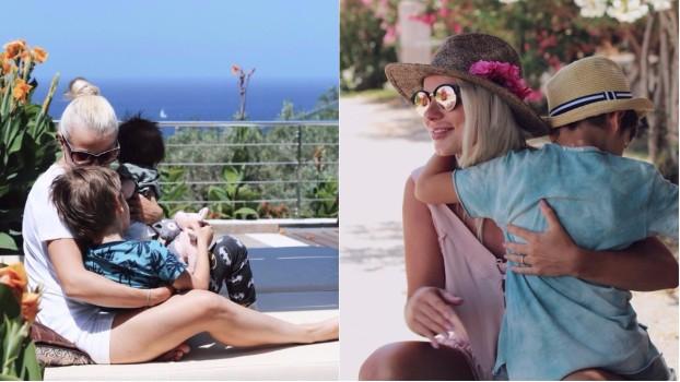 Cătălina Grama alias Jojo, prima vacanță în 4! Actrița a ales Grecia