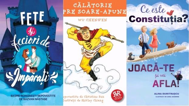 Cărți pentru copii: Ce citim vara aceasta?