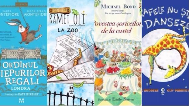 Cărți pentru copii. 4 titluri pentru zile toride de vară