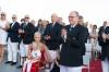Gemenii Jacques și Gabriella de Monaco, apariție regală la lansarea unui vas de expediție