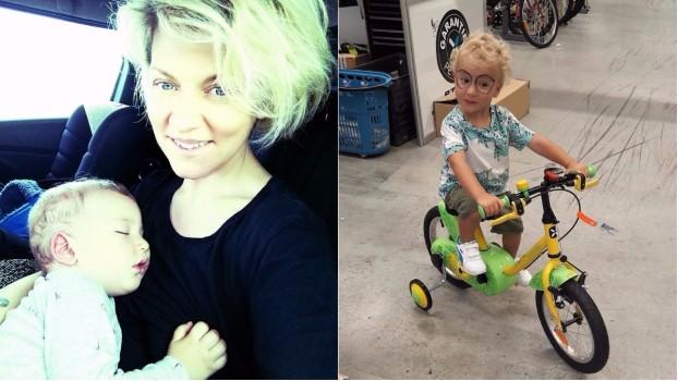 Fiul Danei Nălbaru știe să citească la doar 2 ani. Și și-a ales deja meseria pentru viitor!