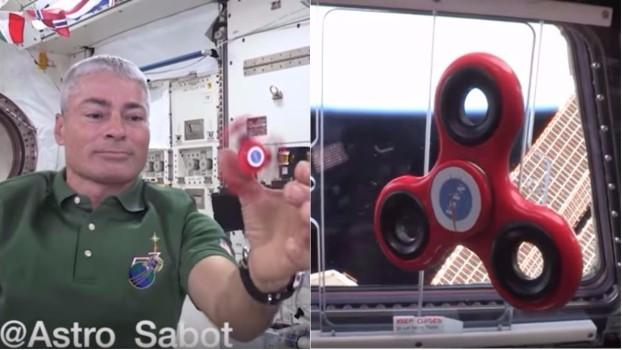 Cât de repede se învârte un spinner în spaţiu? Experimentul făcut de astronauți VIDEO