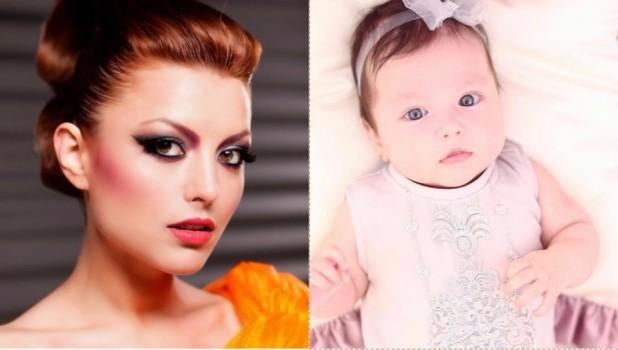 Elena Gheorghe, într-o ținută spectaculoasă la botezul fetiței sale