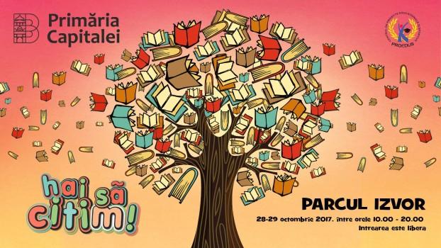 """Festivalul """"Hai să citim"""", în Parcul Izvor"""