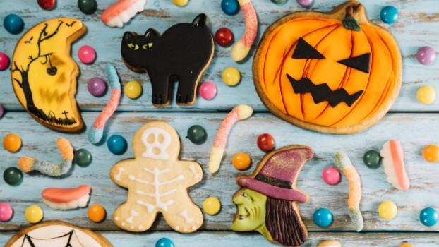 Fursecuri din ciocolată pentru Halloween