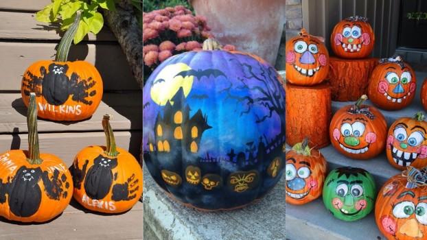 Dovleci pictați: Activități de Halloween pentru părinții mai puțin talentați