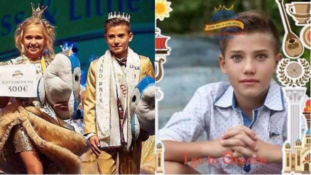 """Cine este cel mai frumos băiețel din lume? Un puști din Medgidia a câștigat """"Little Mister World 2017"""""""